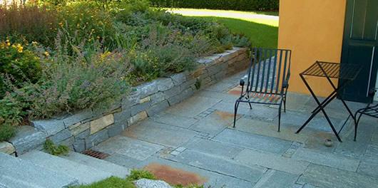 garten mit natursteinen gestalten – rekem, Garten und Bauen